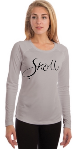Skoll Gear Sun Shirt Grey Long Sleeve
