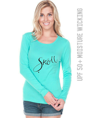 Sköll Female Ocean Blue Long Sleeve UPF 50
