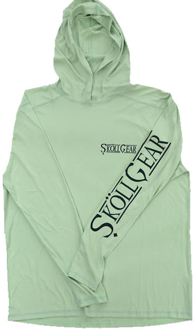 Sköll Sun Hoodie NEW UPF 50 Earth Green