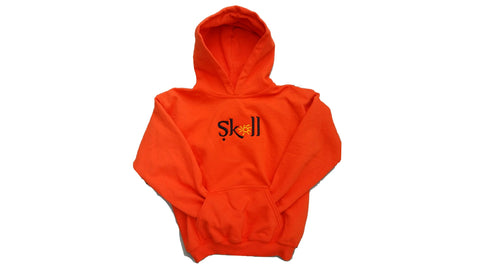 Sköll Kids Hoodie - Burnt Orange