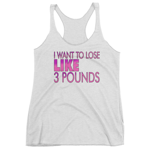 Lose 3 Pounds