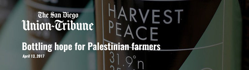 Bottling hope for Palestinian farmers