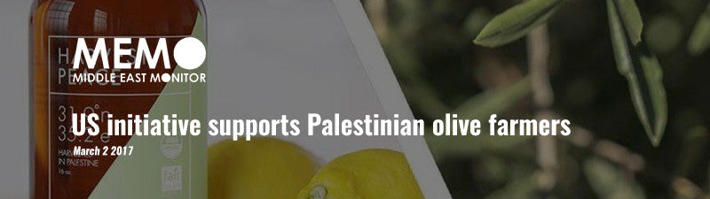 US initiative supports Palestinian olive farmers