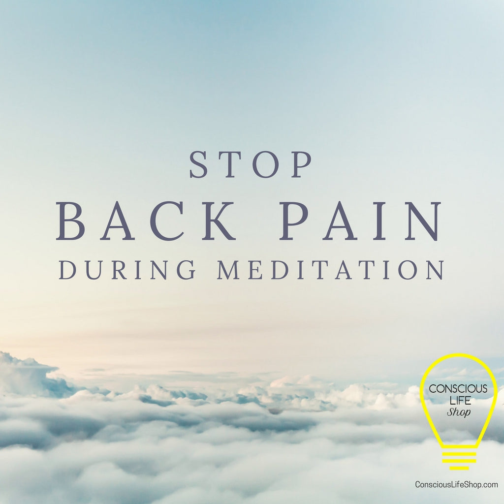 Stop Back Pain During Meditation