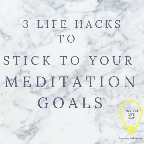 stick to your meditation goals