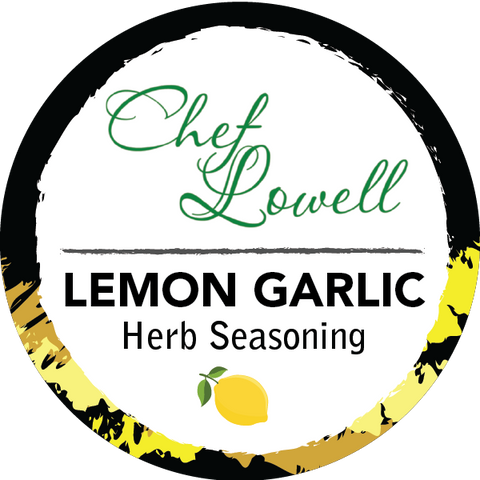 Chef Lowell's Lemon Garlic Herb Seasoning