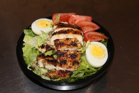 Chicken, Shrimp or Salmon Caesar Salad