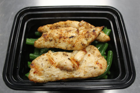 Grilled Chicken & Green Beans