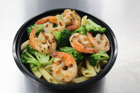Grilled Shrimp & Broccoli Pasta (Lunch)