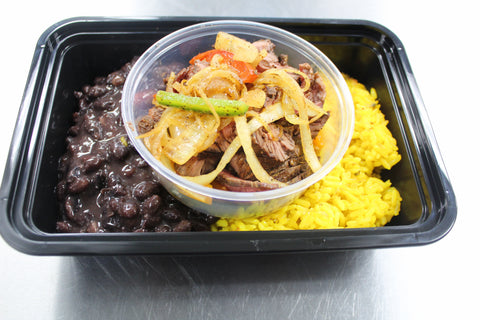 Chicken, Shrimp, or Steak Fajitas, Spanish Rice, Black Beans Sauteed Peppers, Onions, Salsa, Sour Cream, Guacamole (Wednesday Delivery)