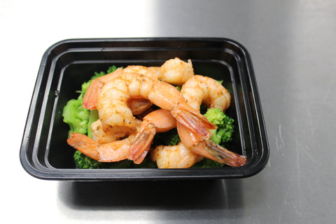 Spicy Shrimp & Roasted Broccoli