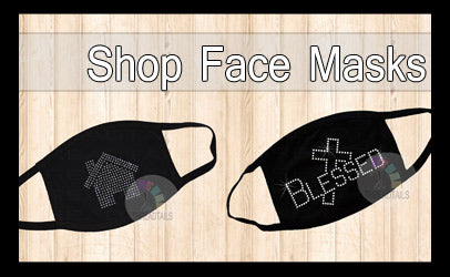 Shop Rhinestone Face Masks