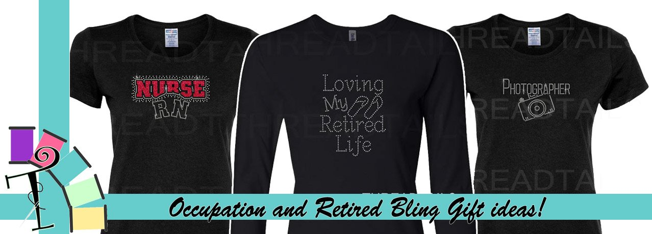 Bling tees for stylists, Realtors, Teachers, Nurses.