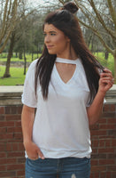 restock: instant attraction choker tee - off white