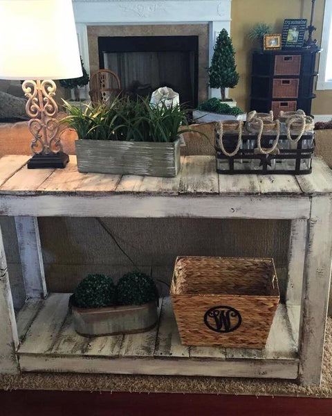 Farmhouse Favorite Console Table - $150+