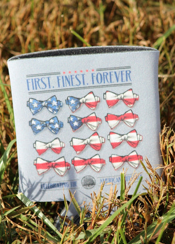 first finest forever koozie - live oak brand