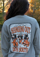 hanging out down south shirt - live oak brand