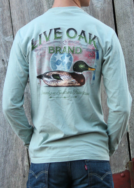 tennessee decoy shirt - live oak brand