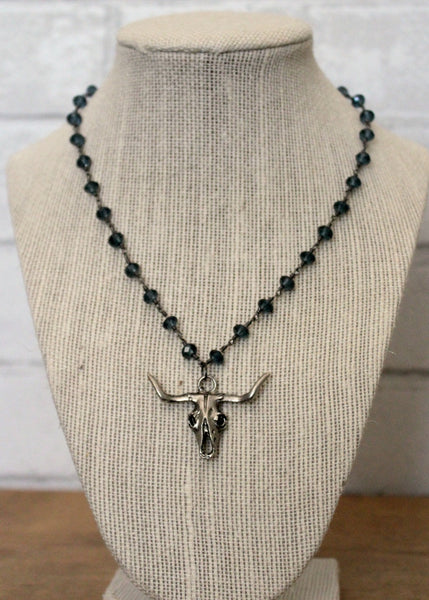 brooke marie: bull necklace