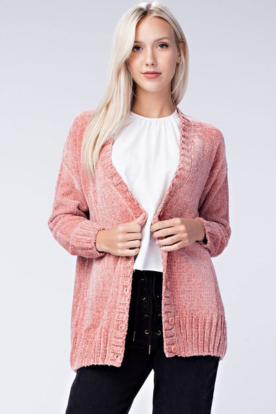 holy grail chenille sweater - multi colors
