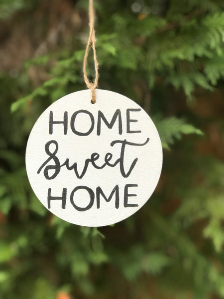 home sweet home ornament - multi-colors