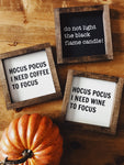 Hocus Pocus mini signs