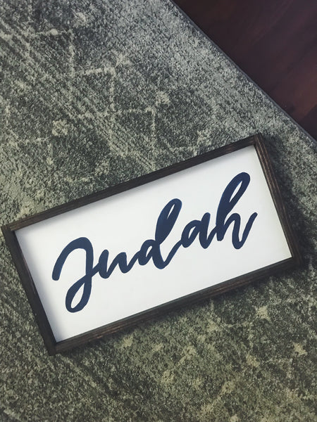 custom name sign - multi sizes