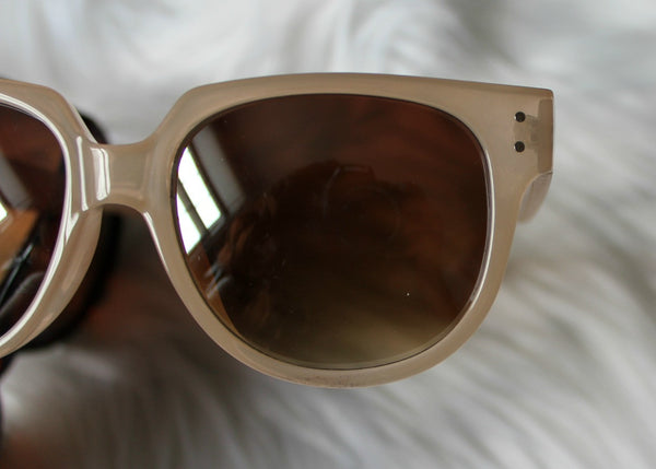 mirrored sunnies - blonde