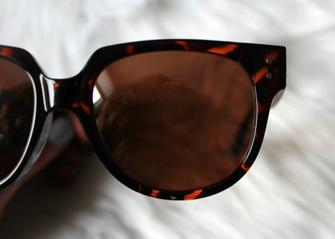 mirrored sunnies - tortoise shell