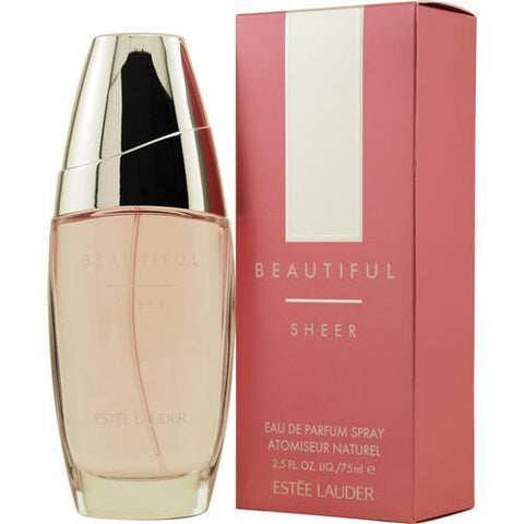 Beautiful Sheer By Estee Lauder Eau De Parfum Spray 2.5 Oz