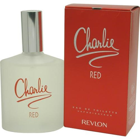 Charlie Red By Revlon Edt Spray 3.4 Oz
