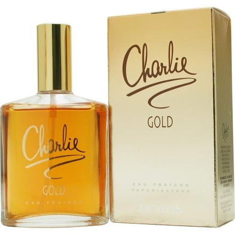Charlie Gold By Revlon Eau Fraiche Spray 3.4 Oz