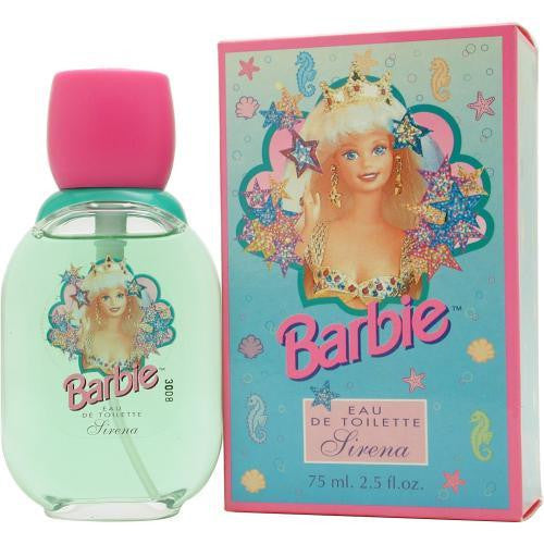 Barbie Sirena By Mattel Edt Spray 2.5 Oz