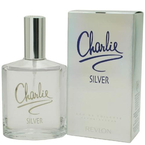Charlie Silver By Revlon Edt Spray 3.4 Oz