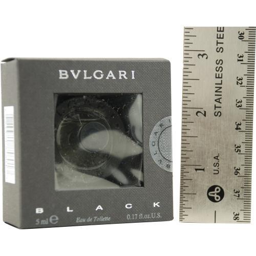 Bvlgari Black By Bvlgari Edt .17 Oz Mini