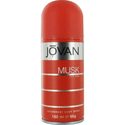 Jovan Musk By Jovan Deodorant Body Spray 5 Oz