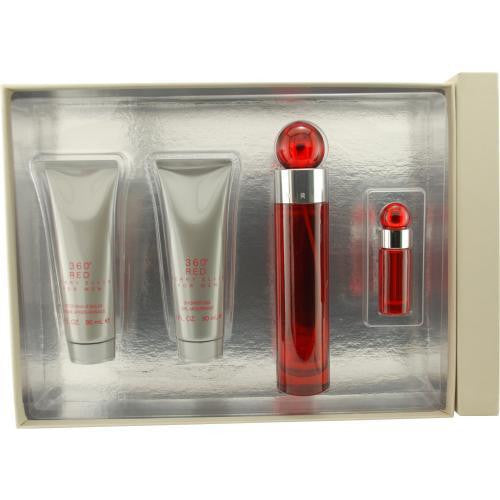 Perry Ellis Gift Set Perry Ellis 360 Red By Perry Ellis freeshipping - 123fragrance.net