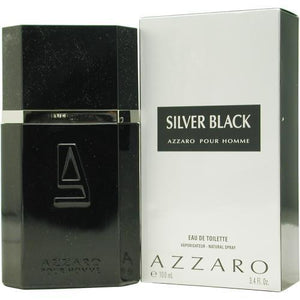 Azzaro Silver Black By Azzaro Edt Spray 3.4 Oz
