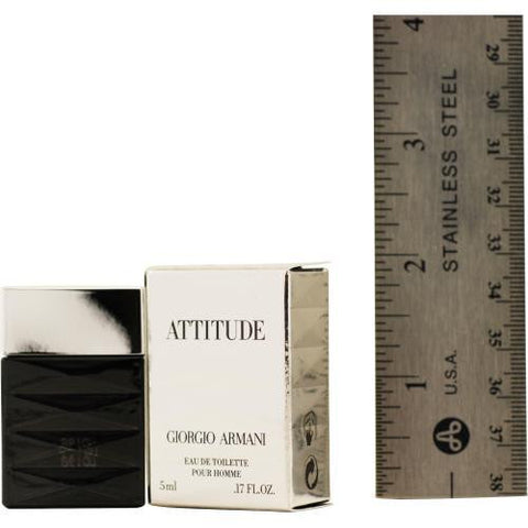 Armani Attitude By Giorgio Armani Edt .17 Oz Mini