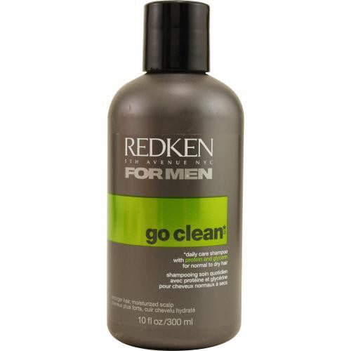 Mens Go Clean Daily Care Shampoo For Normal To Dry Hair 10.1 Oz