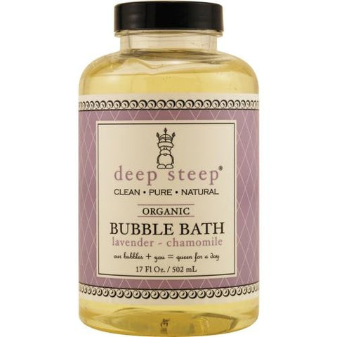 Deep Steep Lavender-chamomile Organic Bubble Bath 17.5 Oz By Deep Steep