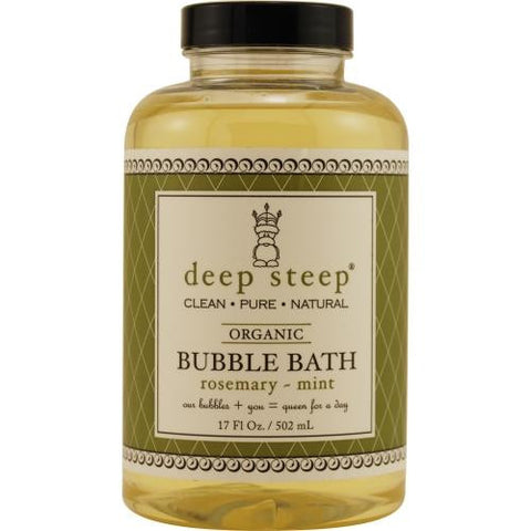 Deep Steep Rosemary-mint Organic Bubble Bath 17 Oz By Deep Steep