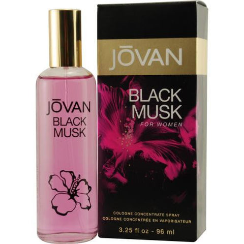 Jovan Black Musk By Jovan Cologne Concentrate Spray 3.25 Oz