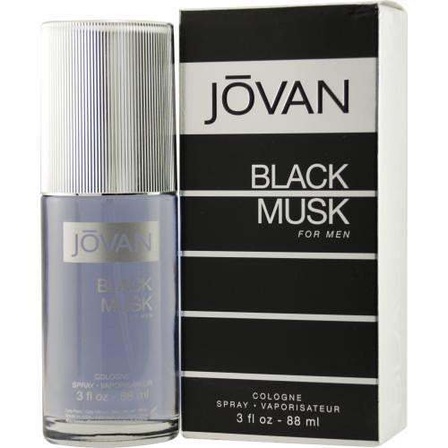 Jovan Black Musk By Jovan Cologne Spray 3 Oz freeshipping - 123fragrance.net