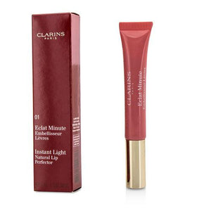 Clarins Eclat Minute Instant Light Natural Lip Perfector - # 01 Rose Shimmer --12ml-0.35oz By Clarins