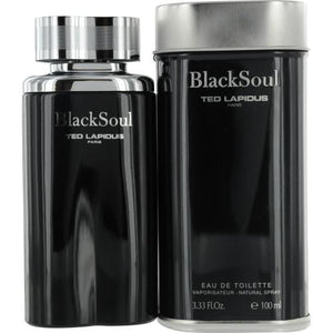 Black Soul By Ted Lapidus Edt Spray 3.4 Oz