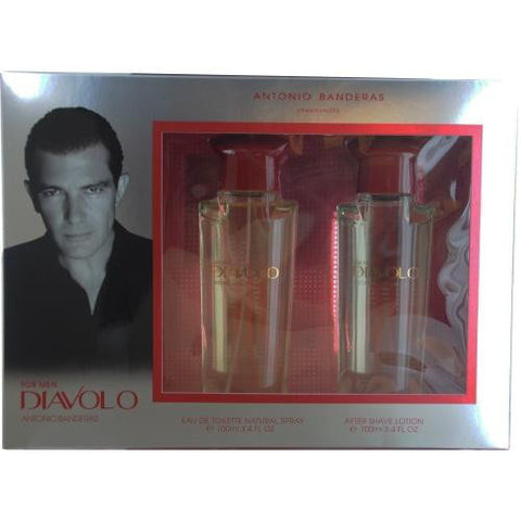 Antonio Banderas Gift Set Diavolo By Antonio Banderas freeshipping - 123fragrance.net