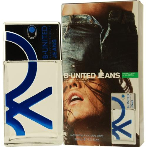 B United Jeans By Benetton Edt Spray 3.3 Oz