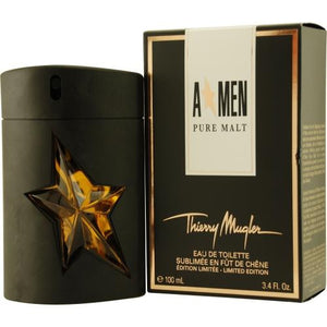 Angel Men Pure Malt By Thierry Mugler Edt Spray 3.4 Oz (limited Edition)