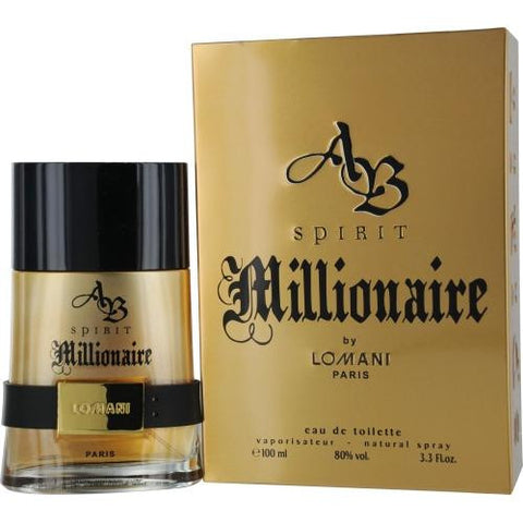 Ab Spirit Millionaire By Lomani Edt Spray 3.3 Oz